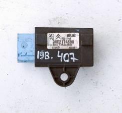 Блок электронный пристегнутого ремя безопасности Peugeot Peugeot 407 2004-2010 [8914GH,9652174680]