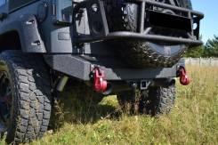 Бампер силовой задний листовой Jeep Wrangler JK 2007-2017