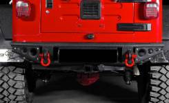 Бампер силовой задний трубный Jeep Wrangler TJ 1996-2007
