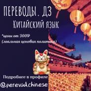Домашние задания и переводы (китайский язык)