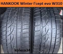 Hankook Winter i*cept Evo W310B. зимние, без шипов, б/у, износ 20%