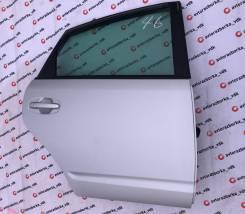 Дверь правая задняя цвет серый 1F7 Toyota Prius NHW20