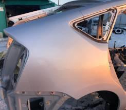 Крыло правое заднее цвет серый 1F7 Toyota Prius NHW20
