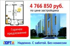 1-комнатная, улица Парашютная 42 кор. 1. Приморский, агентство, 36,3кв.м.