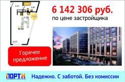 1-комнатная, проспект Средний В.О 106. Василеостровский, агентство, 37,4кв.м.