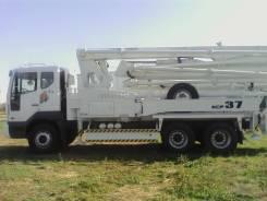 KCP 37ZX170. Автобетононасос KCP37ZX170(37м), 10 964куб. см., 37,00м.