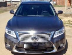 Передний бампер Toyota Camry 40 Стиль Lexus