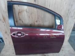 Дверь боковая передняя правая Toyota Vitz SCP90 в сборе