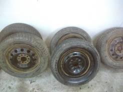 Продам комплект колес на зимней резине.