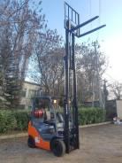 Toyota 8FG18. Продаётся погрузчик вилочный в Севастополе, 1 500кг., Бензиновый, 0,50куб. м.