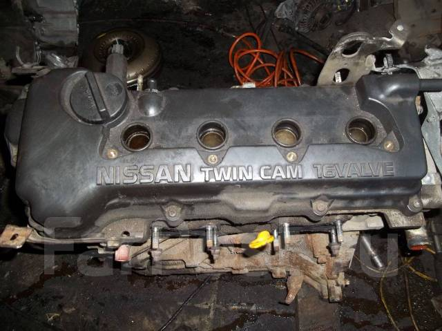 Двигатель QG18DE Ниссан.