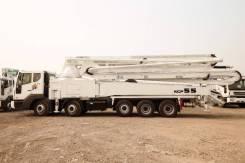 KCP 55ZX170. Автобетононасос (55м. ) на шасси Daewoo Novus 2019, 10 964куб. см., 52,00м.