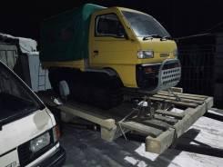 Suzuki Carry Truck. Продаётся самоходная машина на гусеничном ходу, 675куб. см., 400кг., 1 380кг.