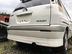Бампер задний с губой белый(040) Toyota Raum EXZ10 EXZ15 90000km