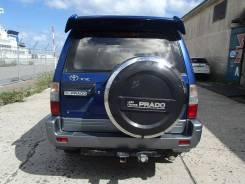 Бампер задний на Toyota Land Cruiser Prado 95/90