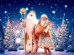 Поздравление Дед Мороза и Снегурочки на дом: конкурсы, хоровод, программа
