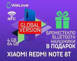 Xiaomi Redmi Note 8T. Новый, 64 Гб, Синий, 3G, 4G LTE, Dual-SIM, NFC. Под заказ