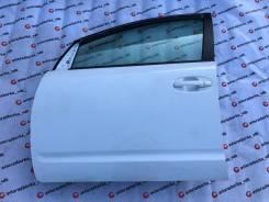 Дверь левая передняя цвет белый 040 Toyota Prius NHW20