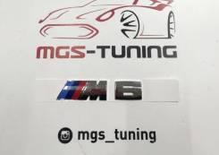 Шильдик M6 на багажник Chrome BMW 6-Series