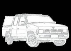 Двигатель Nissan Datsun truck на запчасти