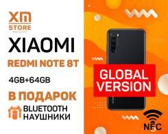 Xiaomi Redmi Note 8T. Новый, 64 Гб, Черный, 3G, 4G LTE, Dual-SIM, NFC