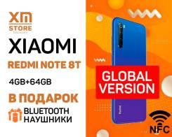 Xiaomi Redmi Note 8T. Новый, 64 Гб, Синий, 3G, 4G LTE, Dual-SIM, NFC