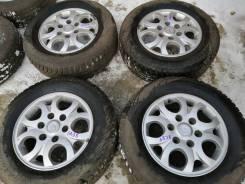 Литьё Hyundai R16 6*139,7 с шинами 215/70R16 (6838)