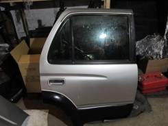 Дверь задняя левая на Toyota Hilux SURF 185