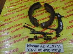Колодки тормозные задние барабанные к-кт Nissan AD Nissan AD 07.1999