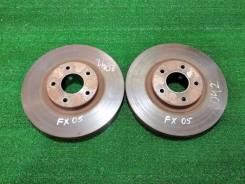 Тормозные диски передние Infiniti FX35 FX45 / цена за пару / отличные