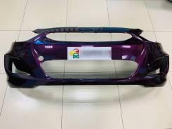 Бампер передний цвет Фиолетовый Хендай Солярис 10-14 в Оренбурге