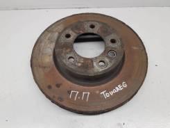 Диск тормозной передний вентилируемый правый [95835140400] для Volkswagen Touareg II