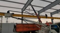 Монтаж, строительство подкрановых путей кранов мостовых, козловых