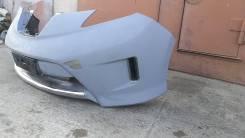 Бампер Aero style передний на Nissan LEAF Zeoazeo