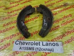 Колодки тормозные задние барабанные к-кт Chevrolet Lanos Chevrolet Lanos, правый
