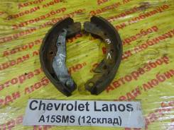 Колодки тормозные задние барабанные к-кт Chevrolet Lanos Chevrolet Lanos, левый