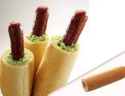 Булочка для французкого хот-дога 40 шт/кор Юнибейк