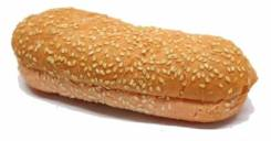 Булочка для датского хот-дога с кунжутом 170 мм 60 гр 36 шт/кор