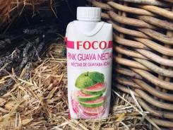 Нектар гуавы розовой 330 мл Foco