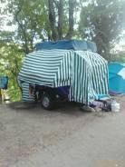 КМЗ. Курганский прицеп палатка, 550кг.