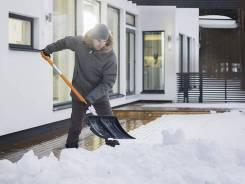 Уборка снега рабочими, разные объекты, умеренные цены!