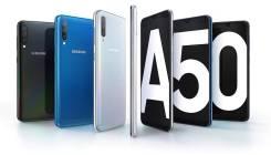 Samsung Galaxy A50. Новый, 64 Гб, Белый, Синий, Черный, 3G, 4G LTE, Dual-SIM, NFC. Под заказ