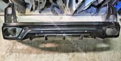 Бампер задний в цвет тюнинг Lexus LX570 III рестайлинг MTR Nemesis