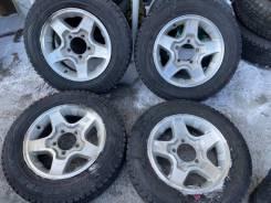 "Колёса на 16 5*139,70. Suzuki Jimny. 175/80R16 зима. 5.5x16"" 5x139.70 ET22 ЦО 108,1мм."
