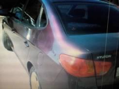 Бампер передний hyundai elantra hd (07) фиолетовый 7d