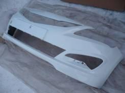 Новый передний бампер (белый / PGU) Hyundai Solaris / Accent 14-17г