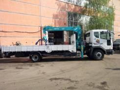 Soosan SCS514. Манипулятор КМУ HKTC HLC5014 5 тонн на шасси Daewoo Novus SE 4х2, 5 890куб. см., 10 000кг., 4x2