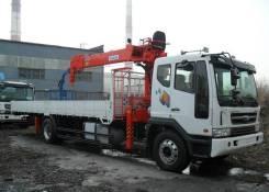 Kanglim KS2056SM. Манипулятор КМУ Kanglim KS2056H 7.5 тонн на шасси Daewoo Novus SE 4х2, 5 890куб. см., 10 000кг., 4x2