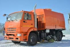 Кургандормаш КО-318Д. КО-318Д на шасси Камаз-53605 подметально-уборочная (пылесос)