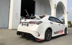 Бампер задний . Toyota Corolla (E180) 2013 - 2018